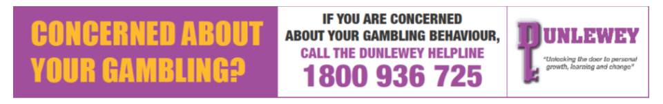 Responsible Gambling Week Ireland is supported by the Dunlewey Addiction Centre