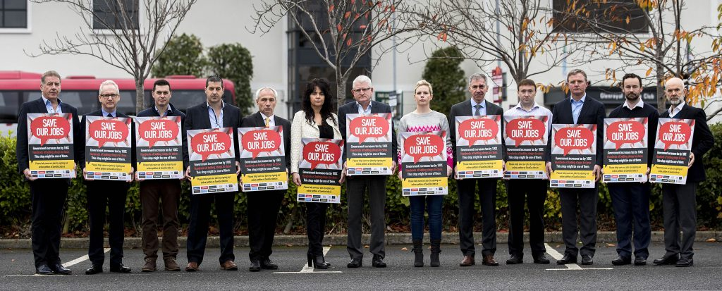 National Saveourjobs campaign launch for betting tax 100 increase