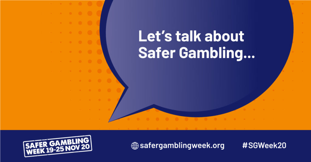 Let's talk about safer gambling image